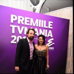 Cu Papadopol la premiile TVMania